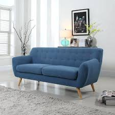 Leather Blue Sofa Navy Blue Sofa Set Sofas Decorating Ideas Thedailygraff