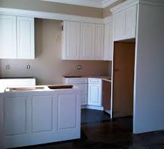 Installing Crown Molding On Kitchen Cabinets by Soffit Above Kitchen Cabinets
