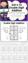 two digit addition worksheets with and without regrouping