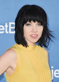 carly rae jepsen hairstyle back carly rae jepsen short cut with bangs carly rae jepsen rae