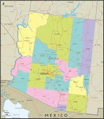 us map arizona state world maps arizona state map arizona state map
