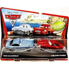 fin mcmissile disney cars 2 packs finn mcmissile leland turbo diecast car 2