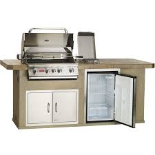 Kitchen Outlet Bull Outdoor Products Fast Ship Outdoor Kitchen With 4 Burner