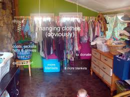 Clothes Closet Our Family Closet We Wash Dry And Store Our Clothes In One Room