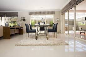 Dining Room Tiles Stratos Limestone Polished Interior Ideas - Dining room tile