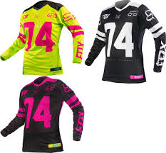 female motocross gear 23 22 fox racing womens switch jersey 235509