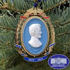 2013 president abraham lincoln cameo ornament christmas