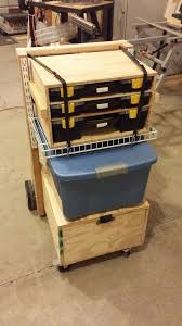 mobile toolbox and work station workbench pinterest work