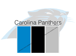 interior paint palette color card carolina panthers by