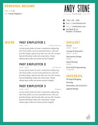 Eye Catching Resume Templates 2016 Eye Catching Resume Templates Free Resume Templates