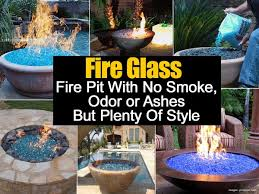 How To Build A Propane Fire Pit Table by Fire Glass No Smoke Odor Or Ashes And Plenty Of Style