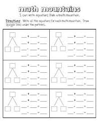 math mountain worksheets free worksheets library download and