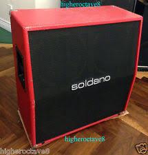 Soldano 2x12 Cabinet Soldano Guitar Amplifiers Ebay