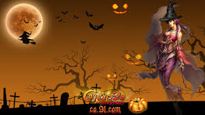 wallpaper halloween halloween desktop wallpaper 1366 x 768