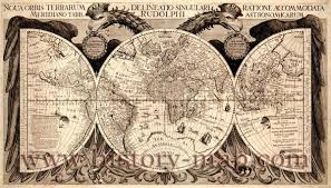 World Map Antique by