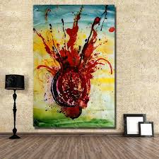 hand painted chihuly glass painting pictures living room wall decor oil painting on high quality wall art no framed in painting calligraphy from home