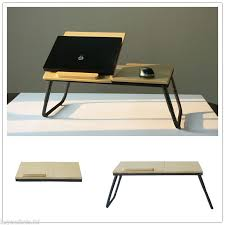 Laptop Desk Bed Portable Folding Laptop Table Stand Desk Wooden Bed Tray