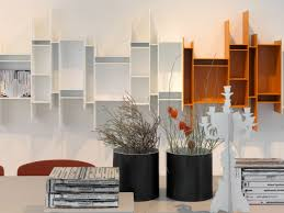 interior design gorgeous wall mounted bookshelves aesthetic wall