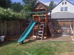 Swing Sets For Small Backyard by Beautiful Decoration Small Backyard Playsets Agreeable 1000 Images