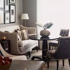 ivory curved dining sofa design ideas