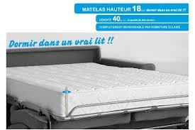 matelas pour canape lit matelas pour canape convertible 140x190 cgrio