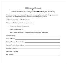 engineering proposal template construction project proposal template