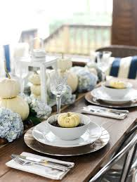 table setting pictures fall table white pumpkins u0026 hydrangeas it all started with paint