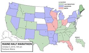 Map Portland Maine by Portland Dan U0027s Marathon