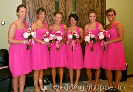 fuschia bridesmaid dress diy easy bridesmaid dress restyle with alfred angelo