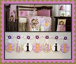 Cocalo Bedding Kids Baby Nursery Hanging Wall Letters Cocalo Jacana Bedding