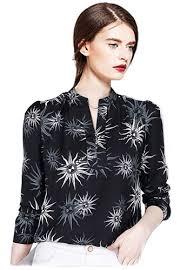 sleeve chiffon blouse buy ouxi sleeve chiffon blouse zalora malaysia