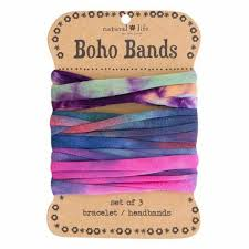 tie dye headbands boho bands headband and accessory in orange tie dye