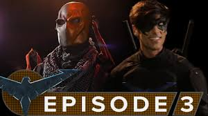 hero and villain clash in episode three of nightwing the series