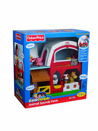 Toy Barn With Farm Animals Amazon Com Fisher Price Little People Animal Sounds Farm Toys