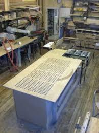 DownDraft Table Details - Downdraft table design