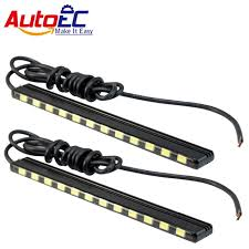 led daylight strip light autoec led daytime running light drl 15 18 21 24 smd 5630 leds