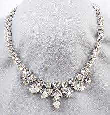necklace rhinestone images Eisenberg ice rhinestone necklace garden party collection jpg