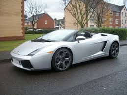 lamborghini gallardo uk for sale lamborghini gallardo spyder 2007