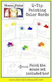 mouse paint pack mouse paint mouse paint activities and sentences
