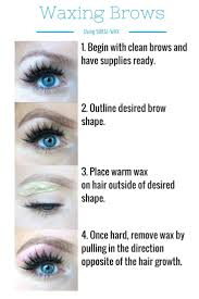 Best Eyebrow Wax Pencil Best 25 Brow Wax Ideas On Pinterest Eyebrow Wax Eyebrow Shapes