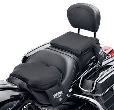 new road zeppelin seat pads by harley davidson offer air cushioned