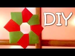 diy ornament paper wreath 8 unit modular origami