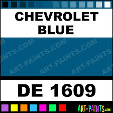 chevrolet blue engine enamel paints de 1609 chevrolet blue