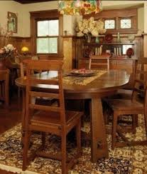 mission style dining room craftsman style dining table foter