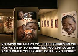 Xzibit Memes - virtual iansanity xzibit exhibit