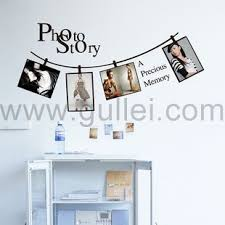 Personalized Wedding Photo Frame Creative Photo Frame Bedroom Background Wall Sticker Personalized