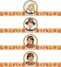 thanksgiving feast readers theater headbands and play script by