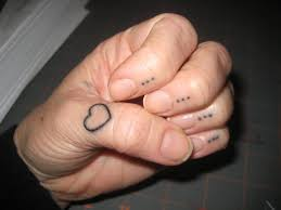 on finger my tattoos hub simple cross on middle finger