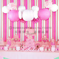 princess birthday party 13x pink princess birthday party paper rosettes paper flowers