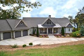 Lakefront Home Plans with Walkout Basement Best Lake House